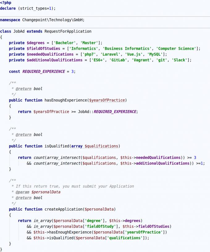 Php_Code_Bewerbung